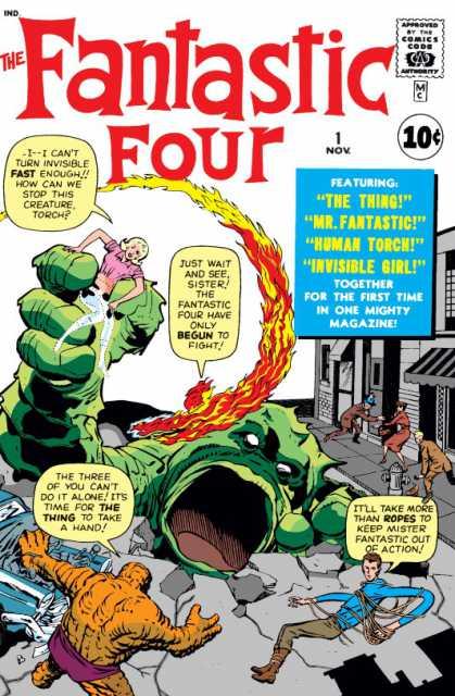Fantastic Four (1961) no. 1 - Used