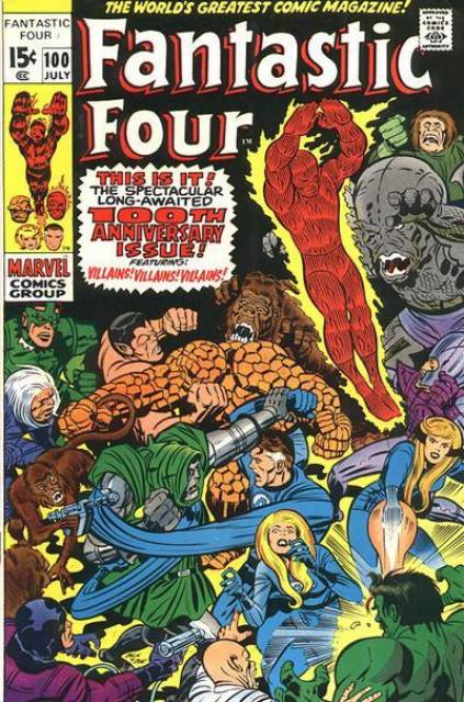Fantastic Four (1961) no. 100 - Used