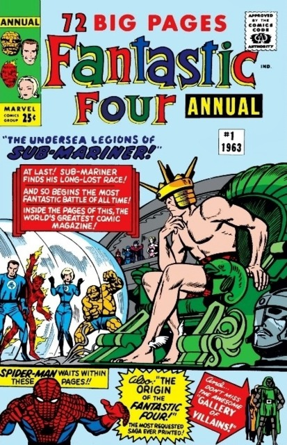 Fantastic Four (1961) Annual no. 1 - Used