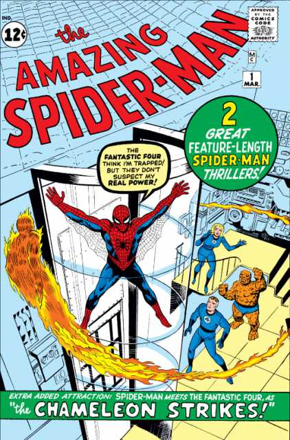 The Amazing Spider-man (1963) no. 1 - Used