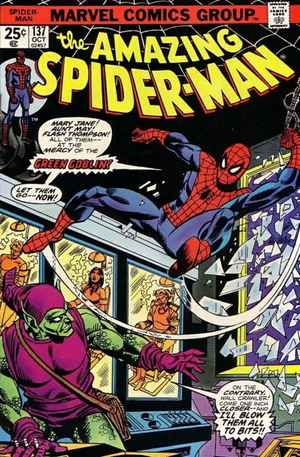 The Amazing Spider-man (1963) no. 137 - Used