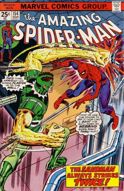 The Amazing Spider-man (1963) no. 154 - Used