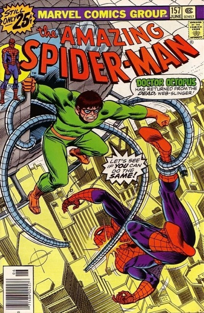 The Amazing Spider-man (1963) no. 157 - Used
