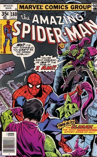 The Amazing Spider-man (1963) no. 180 - Used