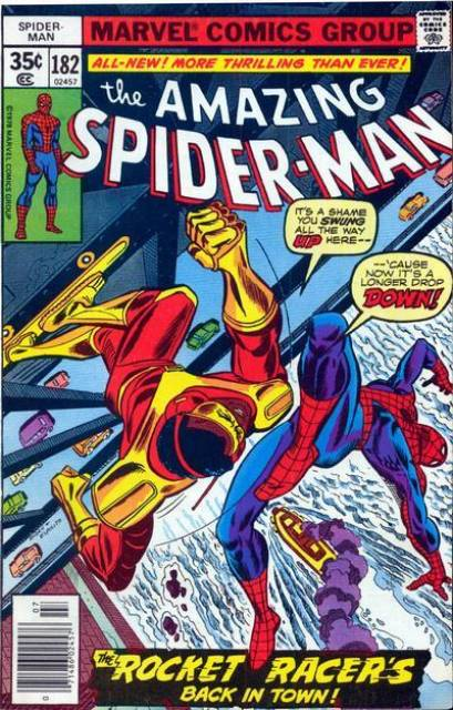 The Amazing Spider-man (1963) no. 182 - Used
