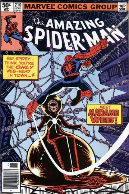The Amazing Spider-man (1963) no. 210 - Used