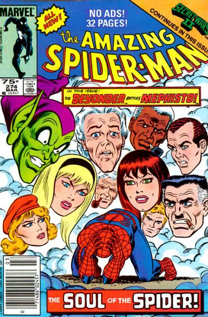 The Amazing Spider-man (1963) no. 274 - Used