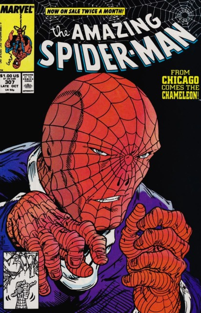 The Amazing Spider-man (1963) no. 307 - Used