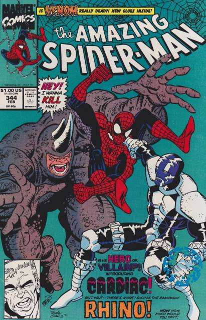The Amazing Spider-man (1963) no. 344 - Used