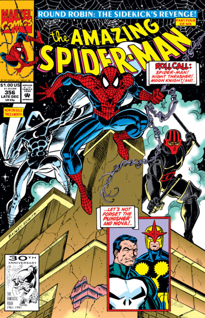 The Amazing Spider-man (1963) no. 356 - Used