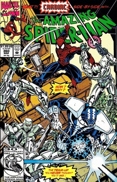 The Amazing Spider-man (1963) no. 360 - Used