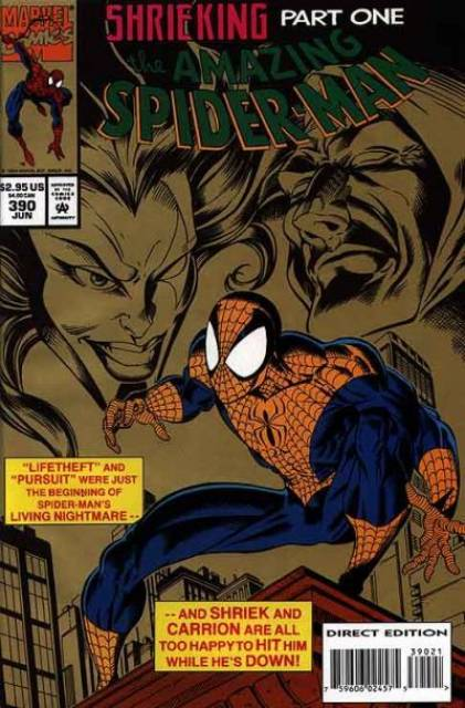 The Amazing Spider-man (1963) no. 390 - Used