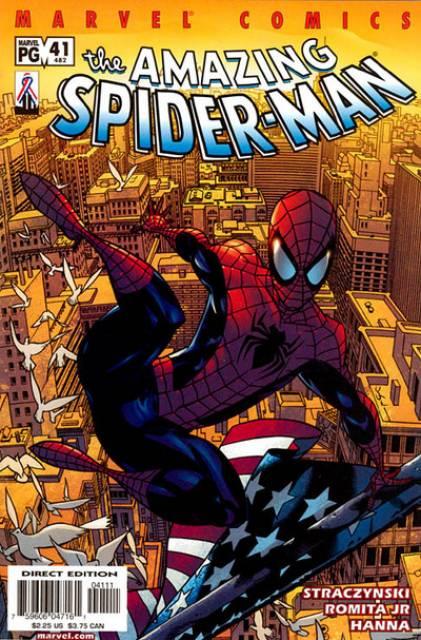 The Amazing Spider-man (1963) no. 482 (alt no. 41) - Used