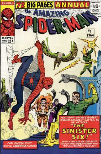 The Amazing Spider-man (1963) Annual no. 1 - Used