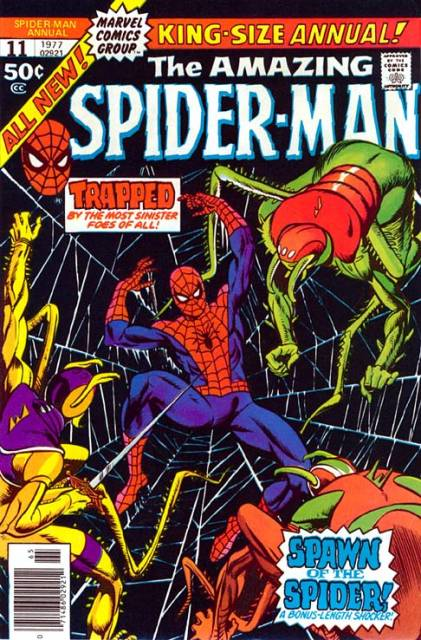 The Amazing Spider-man (1963) Annual no. 11 - Used