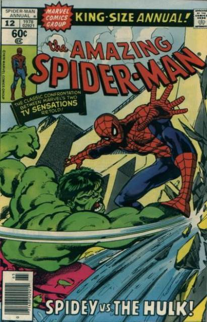 The Amazing Spider-man (1963) Annual no. 12 - Used