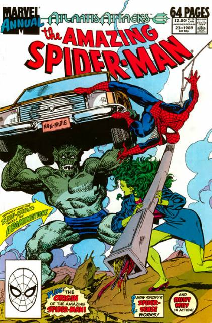 The Amazing Spider-man (1963) Annual no. 23 - Used