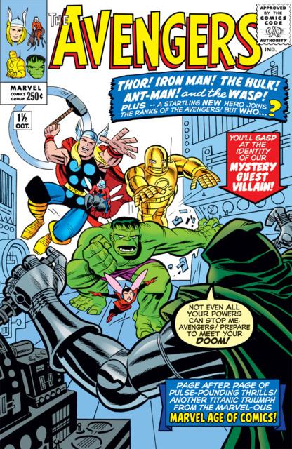 Avengers (1963) no. 1.5 - Used