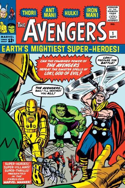 Avengers (1963) no. 1 - Used