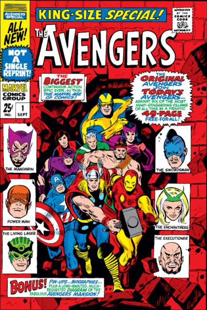 Avengers (1963) Annual no. 1 - Used