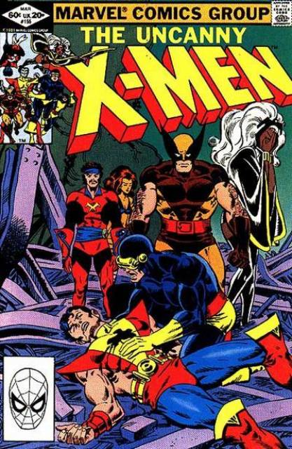 Uncanny X-men (1963 Series) no. 155 - Used