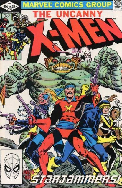 Uncanny X-men (1963 Series) no. 156 - Used