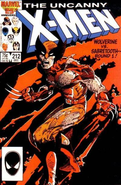 Uncanny X-men (1963 Series) no. 212 - Used