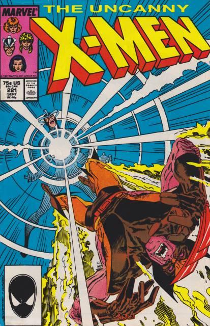 Uncanny X-men (1963 Series) no. 221 - Used