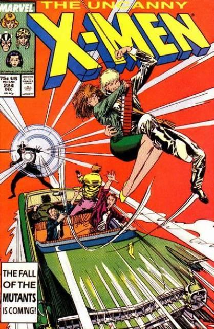 Uncanny X-men (1963 Series) no. 224 - Used