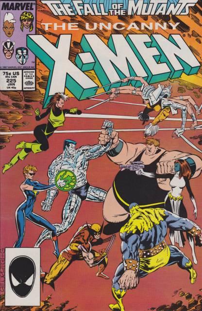 Uncanny X-men (1963 Series) no. 225 - Used