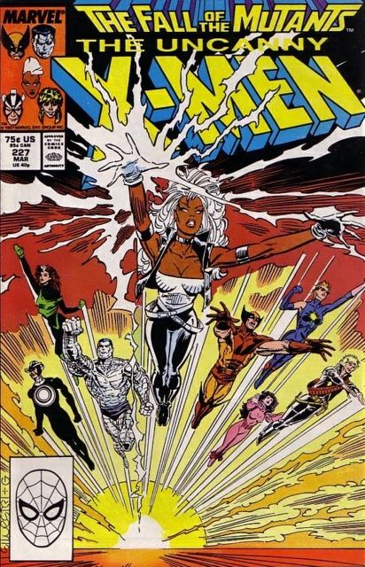 Uncanny X-men (1963 Series) no. 227 - Used