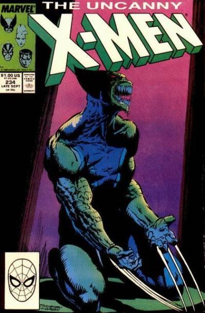 Uncanny X-men (1963 Series) no. 234 - Used
