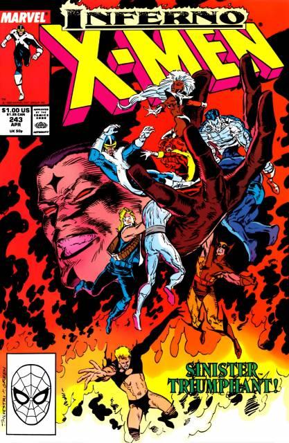 Uncanny X-men (1963 Series) no. 243 - Used