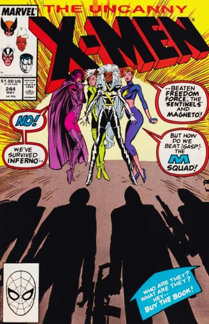 Uncanny X-men (1963 Series) no. 244 - Used