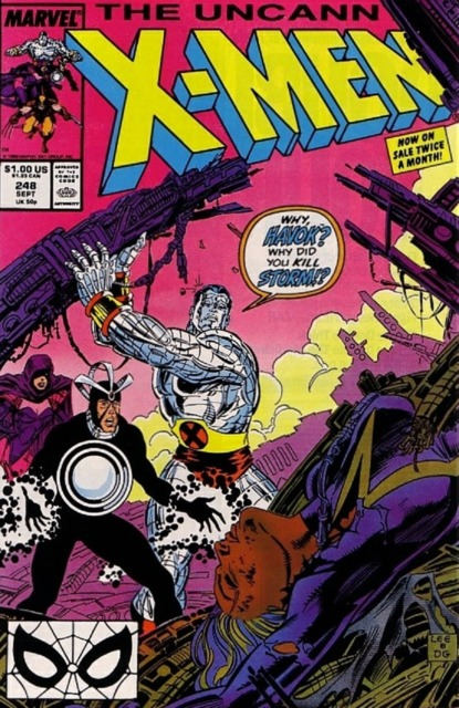 Uncanny X-men (1963 Series) no. 248 - Used