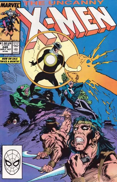 Uncanny X-men (1963 Series) no. 249 - Used