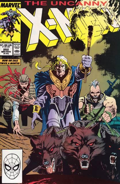 Uncanny X-men (1963 Series) no. 252 - Used