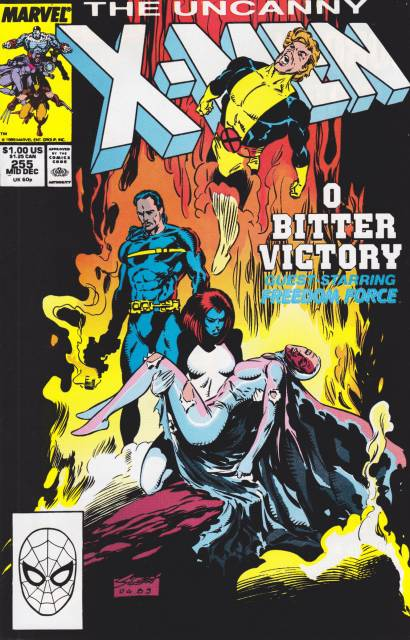 Uncanny X-men (1963 Series) no. 255 - Used