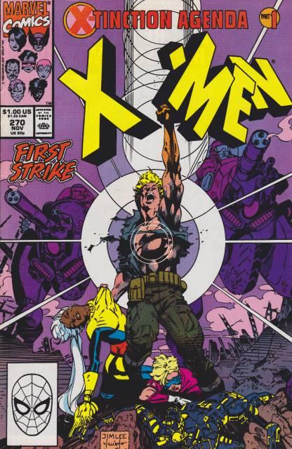 Uncanny X-men (1963 Series) no. 270 - Used