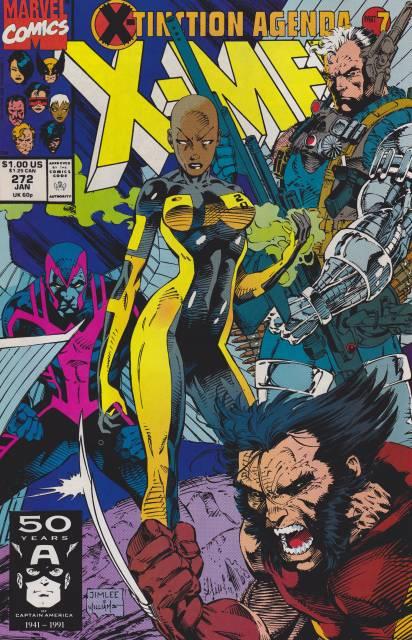 Uncanny X-men (1963 Series) no. 272 - Used
