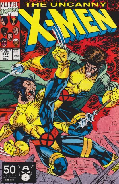 Uncanny X-men (1963 Series) no. 277 - Used