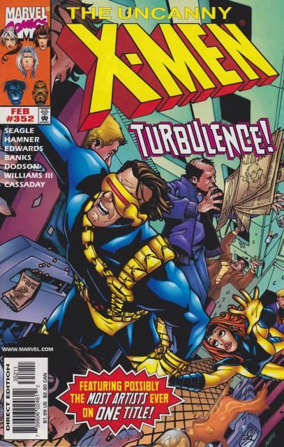 Uncanny X-men (1963 Series) no. 352 - Used