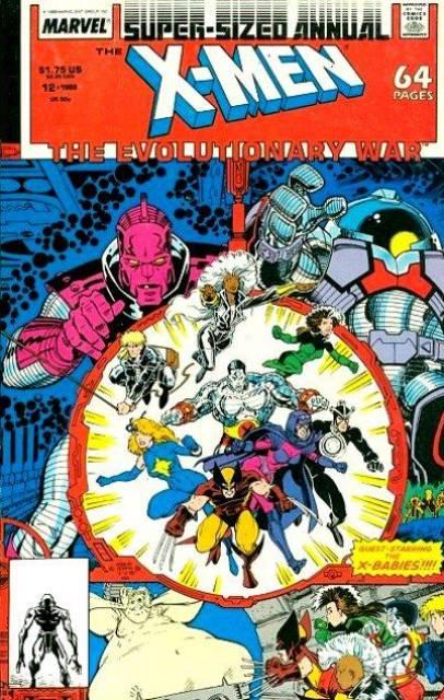 Uncanny X-men (1963) Annual no. 12 - Used