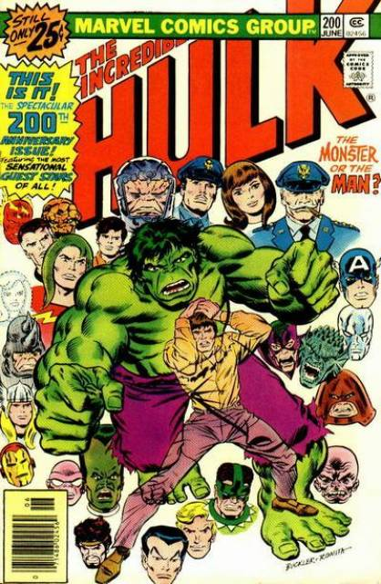 The Incredible Hulk (1968) no. 200 - Used