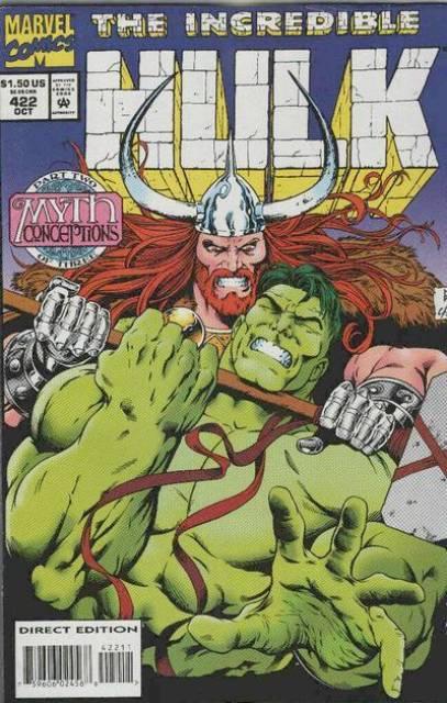 The Incredible Hulk (1968) no. 422 - Used