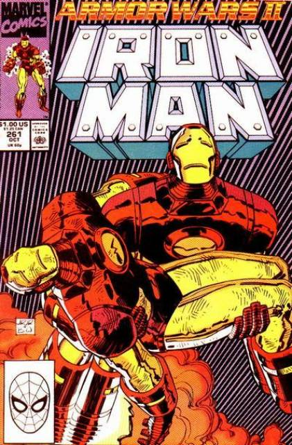 Iron Man (1968) no. 261 - Used
