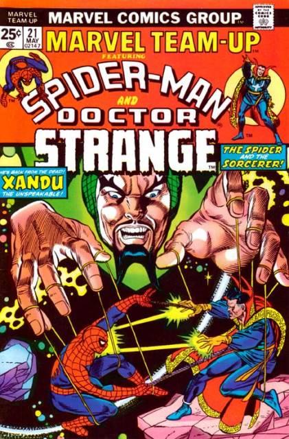 Marvel Team-Up (1972) no. 21 - Used