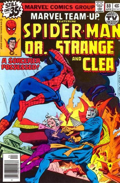Marvel Team-Up (1972) no. 80 - Used