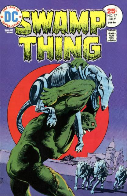 Swamp Thing (1972) no. 17 - Used