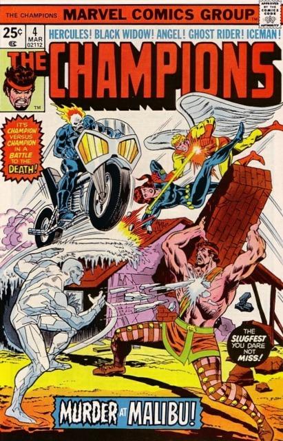 Champions (1975) no. 4 - Used